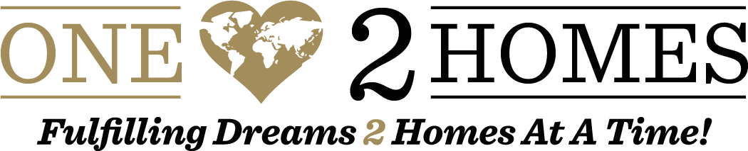 One Heart 2 Homes Logo